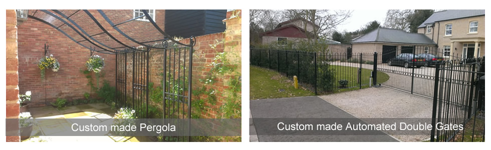 Pergola and Automated Gates