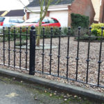 Railing installed in St Neots