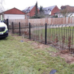 Railing installed in Stansted