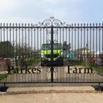 Double gates installed in Haddenham