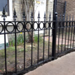 Railings installed in Cambridge
