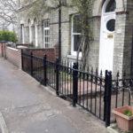 Railings installed in Cambridge