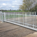 Sliding security gate Somersham
