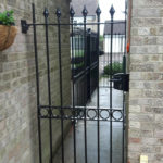 Single gate installed in St Ives