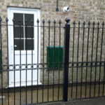 Railings installed in St Ives