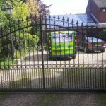 Sliding gate installed in Brampton