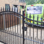 Double gates installed in Colne
