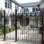 Railings installed in Tilbrook