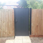 Single gate installed in St Ives Cambridgeshire