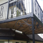 Balcony in Glatton Cambridgeshire