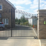 Double gates installed in Newmarket