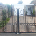 Double gates installed in St Ives