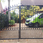Double gates installed in Upwood