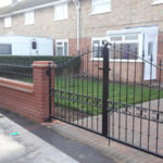 Double gates installed in Pidley