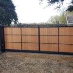 Synthetic timber gate in Watton